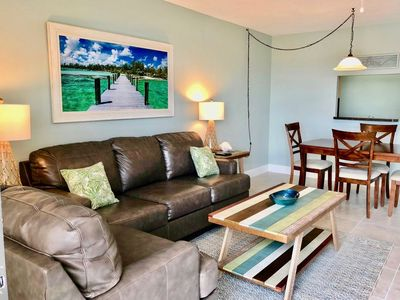 Photo for Fabulous Condo in TOP Location! On the beach and just steps to pier!