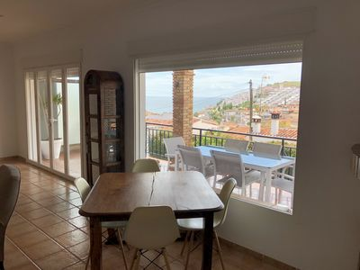Photo for Exceptional location: Large house with great clarity, sunny and sea views