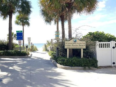 Photo for Indian Rocks Beach Living for 6 Guests! Newly Renovated Beach Side Condo!