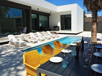 Photo for Blanca: Modern villa with private pool and garden