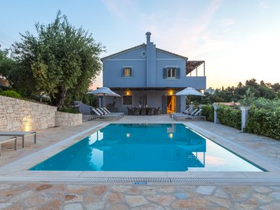 Photo for Contemporary Villa - Large Swimming Pool, Terrace With Stunning Sea Views