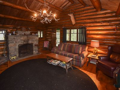 Photo for Rusticana Hubbard Log Cabin