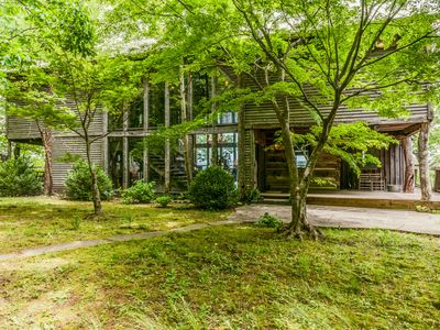 Photo for Beautiful Log Cottage With Panoramic View Overlooking Savage Gulf State Park