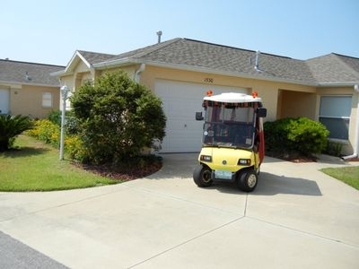 Vacation Rental Home with Golf Cart
