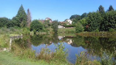 Photo for Natures Retreat - French country farmhouse, carp fishing lake & swimming pool