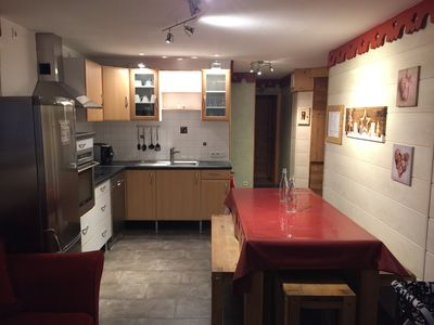 Photo for Very nice apartment rental 8-10 people in Les Menuires ski foot