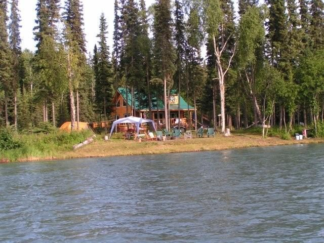 kenai river waterfront - over 350 feet of p