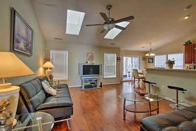 Rest easy inside nearly 1,300 square feet of living space.