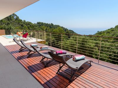 Photo for LUXURY VILLA WITH GIANT OUTDOOR JACUZZI AND STUNNING VIEWS ref REMY