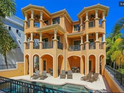 Photo for A Breathtaking Mediterranean Townhome - Across the street from Siesta Key Beach