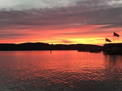 Photo for Walloon Lake sunsets -- Waterfront -- Peaceful
