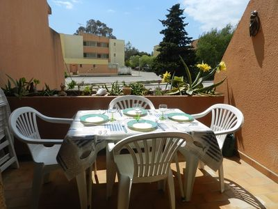 Photo for STUDIO 4 PEOPLE. 300M FROM THE BEACH. THE LONDE THE MAURES
