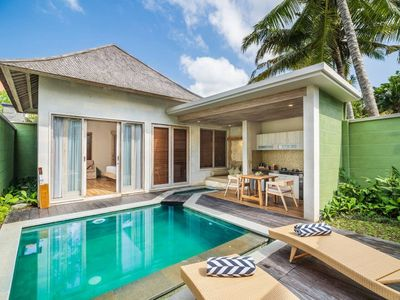 Photo for Spacious Private Pool Villa 1BR in Ubud