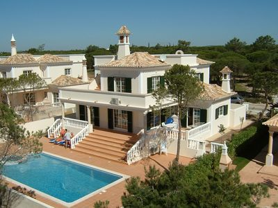 Photo for Algarve, Almancil: Fully secluded villa, private pool, GB/D/NL/F television