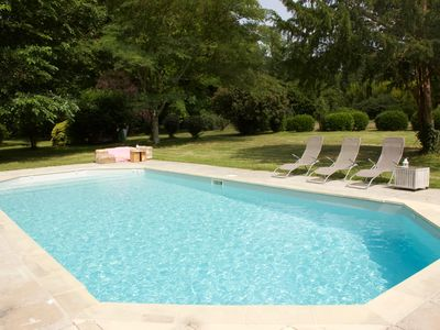 Photo for Gite atypique any comfort located in a park of 1 hectare with swimming pool