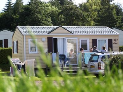 Photo for Camping L'Etang des Haizes **** - Mobil Home 3 Rooms 2 People