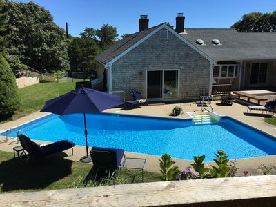 Photo for Beautiful Chatham Home with Heated Saltwater Pool and Central A/C