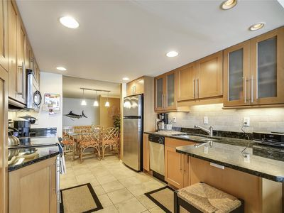 Photo for FREE DAILY ACTIVITIES! FREE WIFI!!! Upgrades abound in this extraordinary oceanfront/beachfront unit featuring panoramic views of both the bay & the ocean from each of your two private balconies.