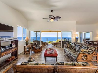 Photo for Breezy home with stunning ocean views - minutes away from the beach!