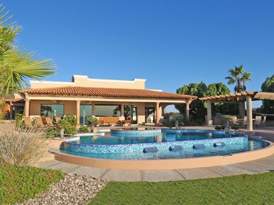 Photo for Must See Video (see pic #3) - Beach Front Home with Giant Private Pool & Jacuzzi