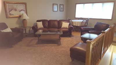 Photo for Newly Remodeled, Unit #2 Nicely Furnished Top Floor Condo 1/2 Mile From The Lak