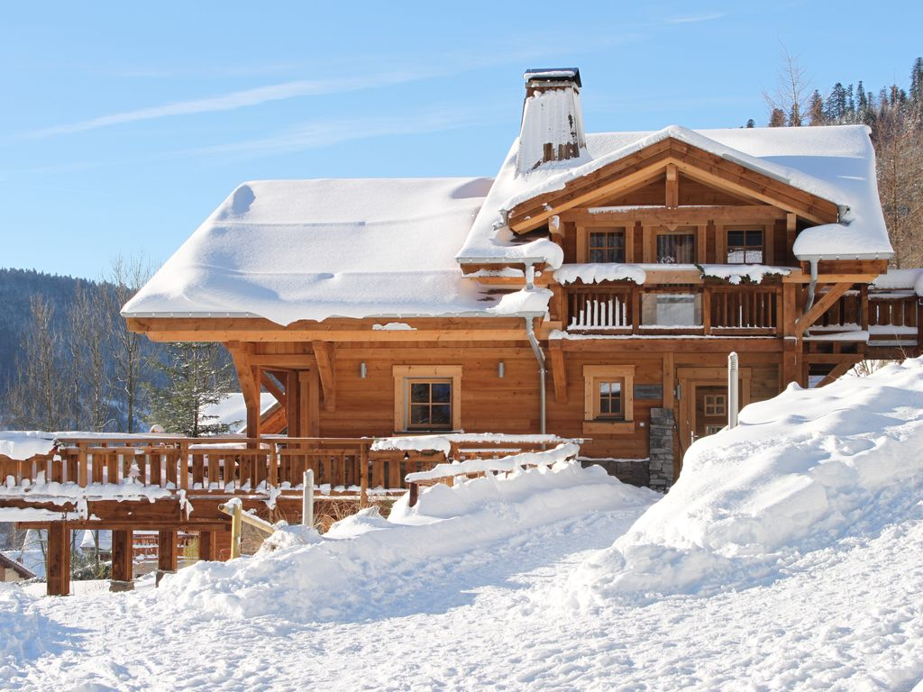 La noli re is a high standing chalet for 10 homeaway - Chalet en bois swan valley ...