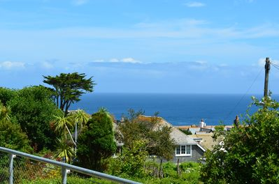 Sea View from the deck