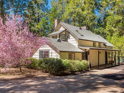 Photo for Beautifully updated, two-story home w/ large, furnished deck & forest views