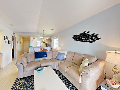 Photo for New Listing! Beautifully Updated Top-Floor Condo – On Waterway w/ Pool