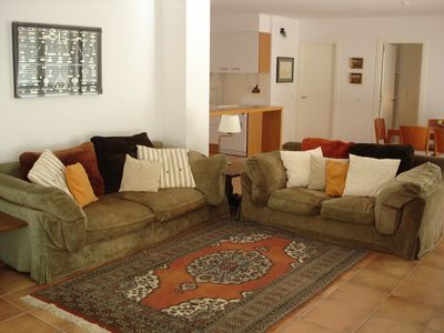 Photo for Accommodation with garden, pool, sea view