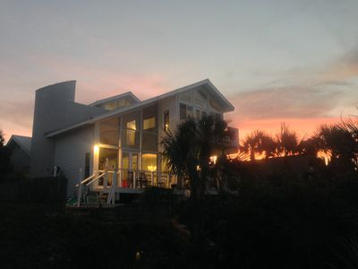 Photo for Direct Ocean Front Private Home In New Smyrna Beach Florida, 4+ Bedrooms, Pool