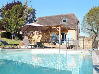 Photo for Vacation home Les Combes  in La Chapelle Aubareil, Périgord - 4 persons, 2 bedrooms