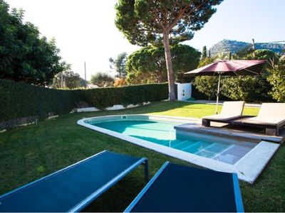 Photo for quiet house to enjoy the holidays, with pool and jacuzzi in the garden
