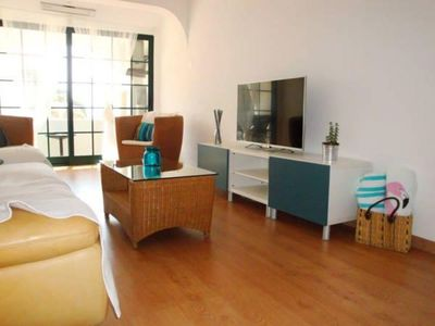 Photo for Spacious Barranco apartment in Carvoeiro with WiFi, air conditioning & balcony.