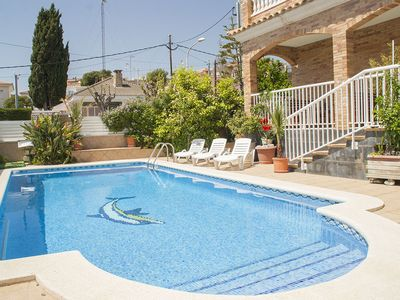 Photo for Club Villamar - Spacious villa located in the center of the town at walking distance from all ame...