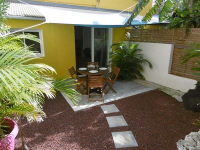 Photo for Charming apartment with garden in Terre Sainte (Saint Pierre)