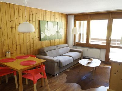 Photo for 2 Room, Kitchen, South Balcony, Pool, Covered Parking In Quiet Täsch (zermatt)