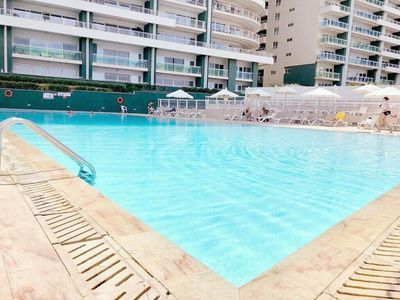 Photo for SEAFRONT LUX APARTMENT wt POOL, Upmarket Area