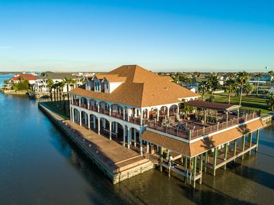 Photo for NEW LISTING! Bayfront villa w/ large deck, jet-ski slips, & pool table