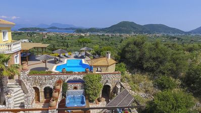 Photo for Hilltop Retreat, Private Idyll, Sea Breezes And Star-Gazing