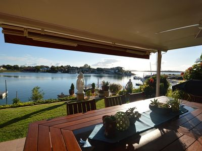Photo for At The Peninsula, large waterfront home with pool, Yamba