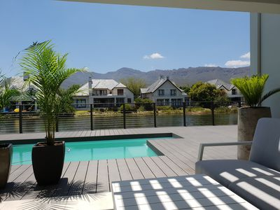 Photo for Exquisite Pool House on Pearl Valley Golf Estate