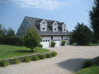 Photo for Close to Town , AC, Free WIFI, outdoor shower, grill, private yard on bike path