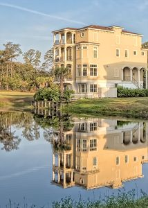 Photo for Custom Home 1/2 mile to Folly Field Beach Elevator Pool Gourmet Kitchen