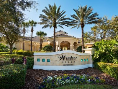 Photo for Windsor Hills Resort, 3 bedrooms 2 Bathrooms sleeps 7, 2.5 miles away from Disney