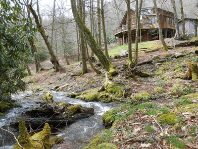 Photo for Parkway Creek - Creekside - Game Room - Sleeps 14 - Private - ATV Riding - Wifi