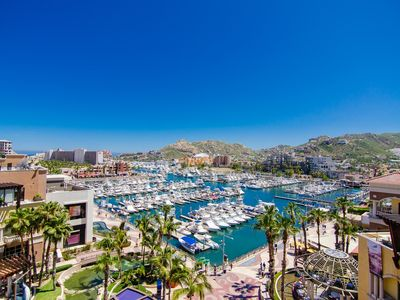 Photo for LUXURY PROPERTY! RIGHT ON CABO MARINA! Deck w/view,  A/C, Grill, Gym, WI-FI