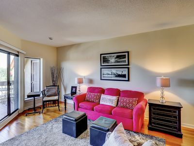 Photo for Penthouse Living at Shelter Cove Marina w/Balcony, Harbor View, Pool & Tennis