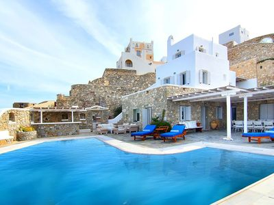 Photo for Breathtaking Villa Cielo, 6 bedrooms, 6 bathrooms, private pool, 15 guests