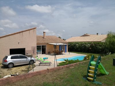 Photo for Villa full foot calm with swimming pool